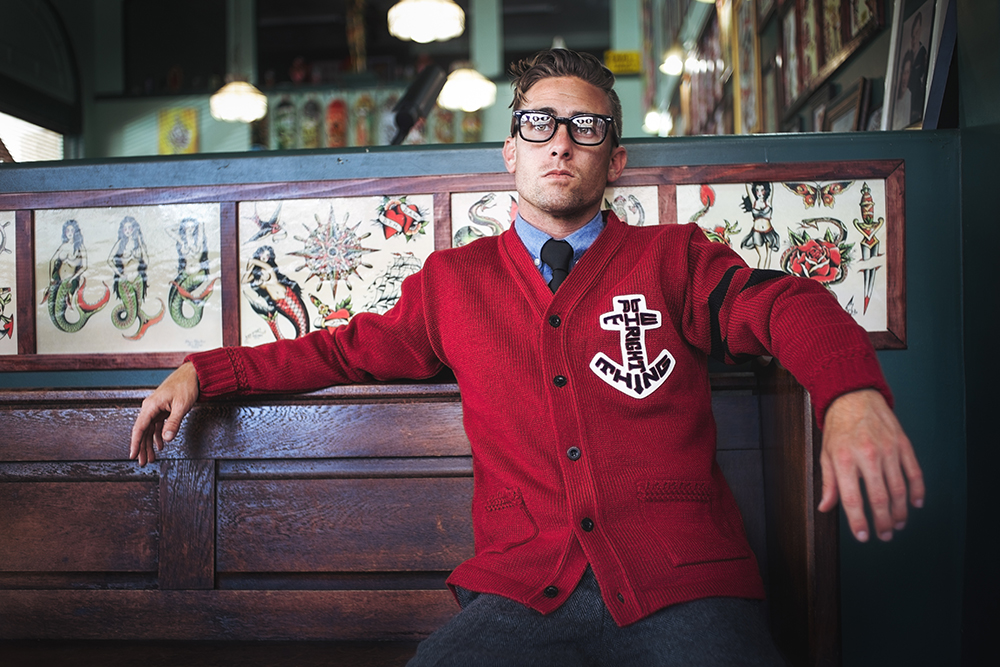 ANCHOR SIGN CARDIGAN image