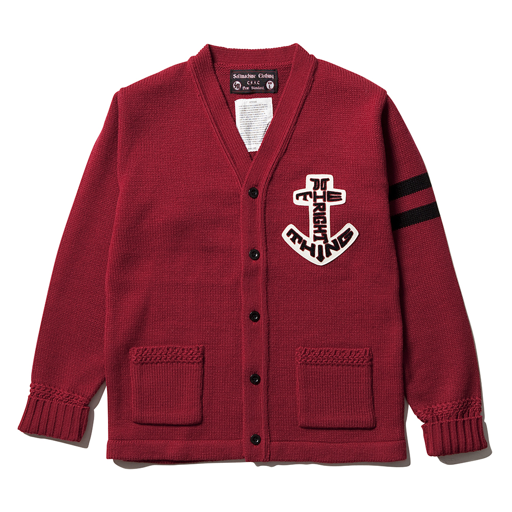 ANCHOR SIGN CARDIGAN