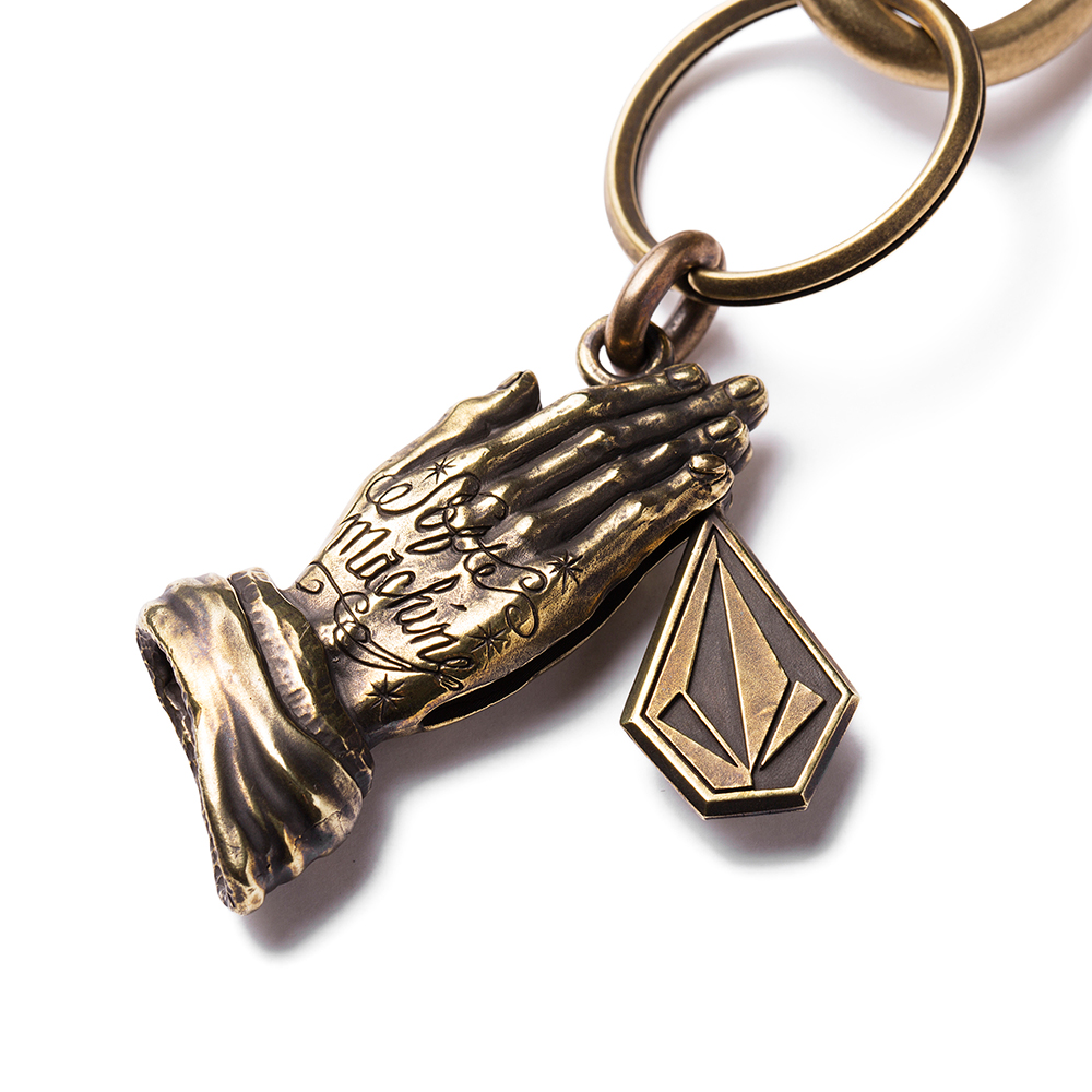 SOFTMACHINE × VOLCOM KEY CHAIN