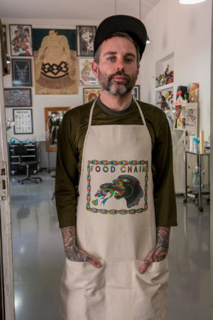 FOOD CHAIN APRON
