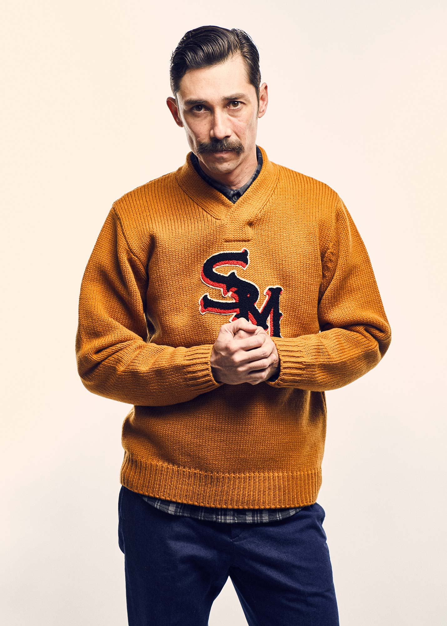 SM LETTERED SWEATER